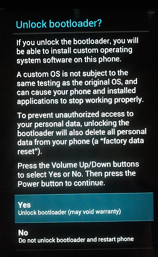 Rooting a Nexus 7 Tablet