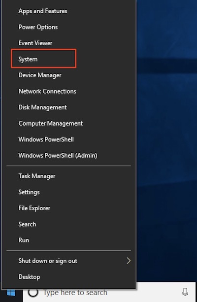 how to find out computer name in windows 10