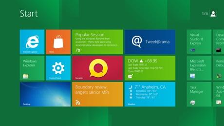 Windows 8 Metro Tiles