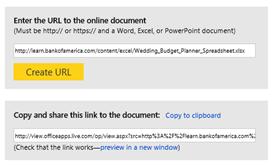 Office Viewer Link Tool