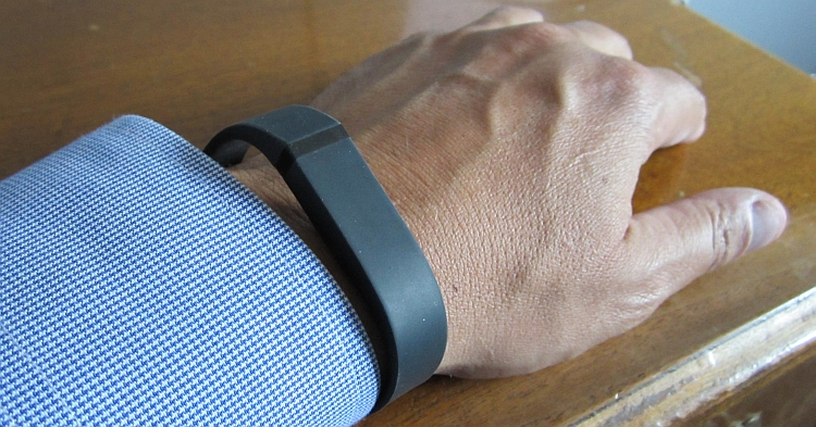 Wearing the FitBit Flex
