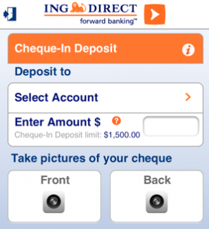 ING Cheque-In Deposit