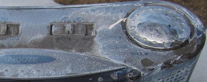 NeverWet plastic surface