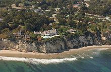 Streisand's Malibu house