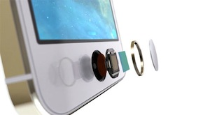 iPhone 5s Touch ID sensor exploded