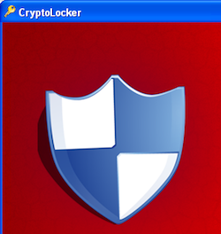 CryptoLocker's Main Screen and Icon