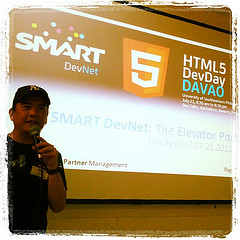 @jimayson on #SmartDevNet elevator pitch