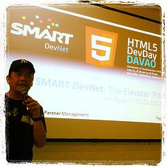@jimayson on #SmartDevNet elevator pitch