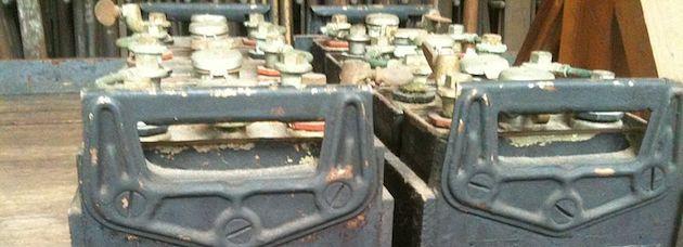 Thomas Edison's nickel–iron batteries