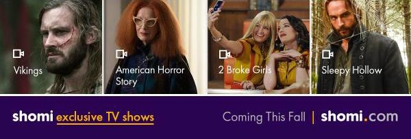 Shomi Exclusives