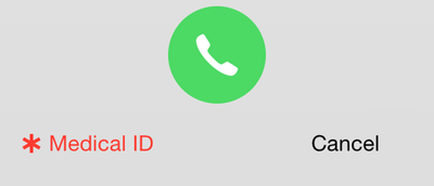 Medical ID on iOS 8