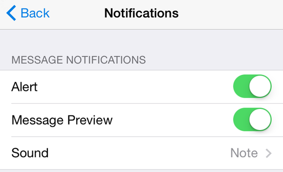 iOS 8 and Whatsapp Notifications