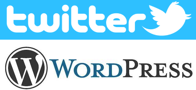 twitter on wordpress