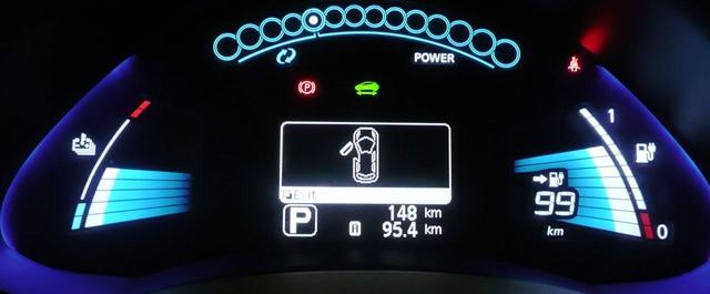 Nissan Leaf Dashboard Details