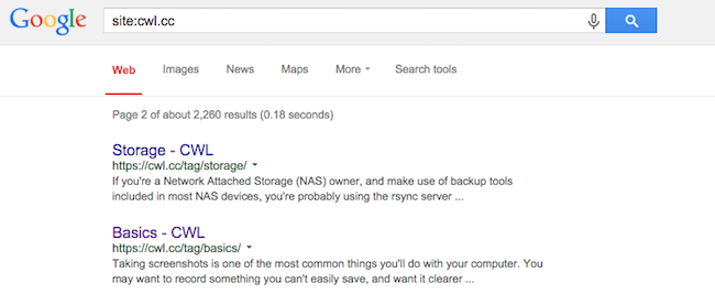 Google Search Inculuding Archives