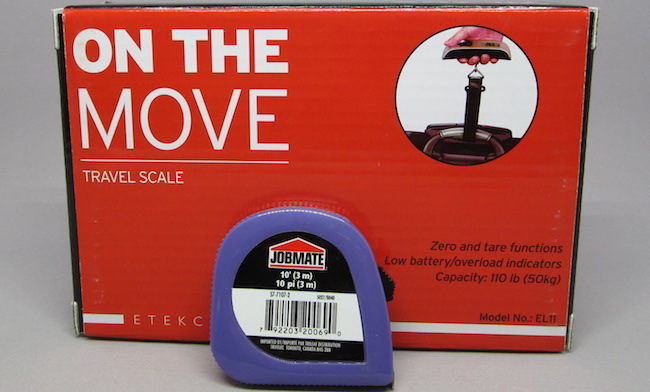 Contest: Win 1 of 5 Weight Scale + Measuring Tape