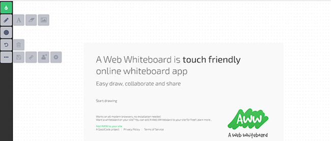 Web WhiteBoard Logo