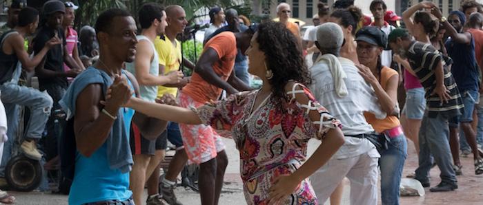 Cubans Dancing