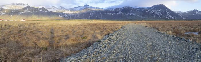 Icelandic Landscape Banner