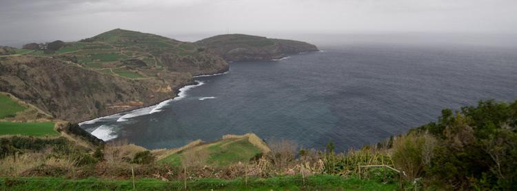Azores Coastline View