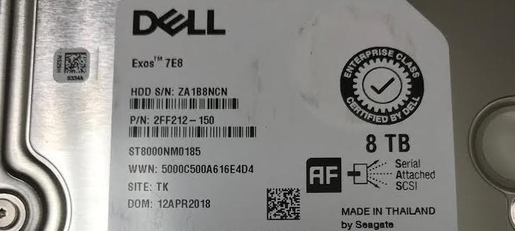 The Strange Case of Dell VRTX Hard Disk Compatibility [Solved] – CWL
